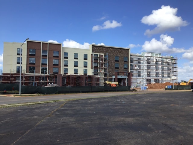 construction of hilton garden inn in madison alabama